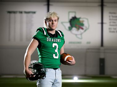 Southlake Carroll five-star quarterback Quinn Ewers, who is committed to Ohio State, is the No. 1 recruit in the nation. (Brandon Wade/Special Contributor)