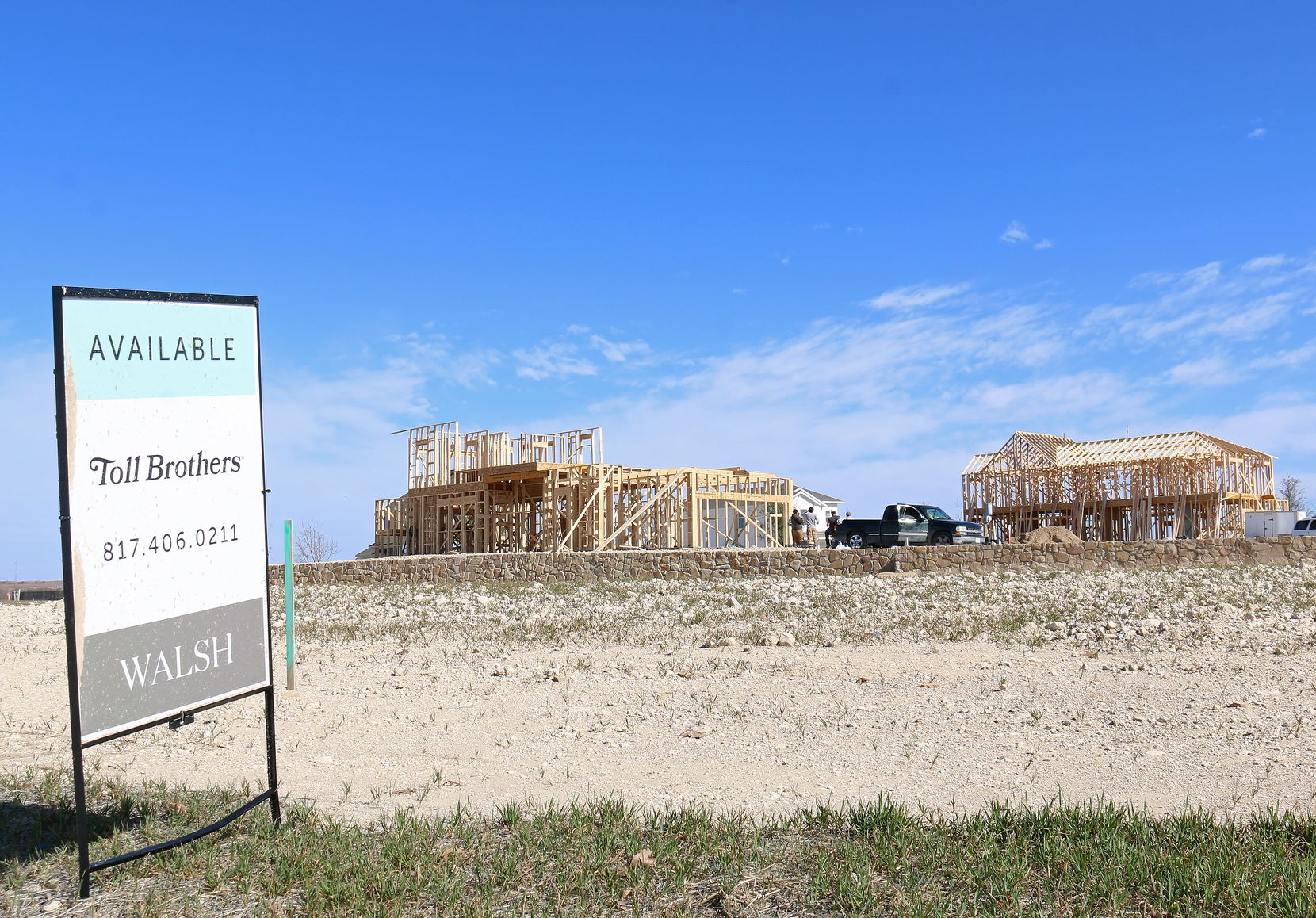 About 600 houses have been built in the Walsh Ranch development.