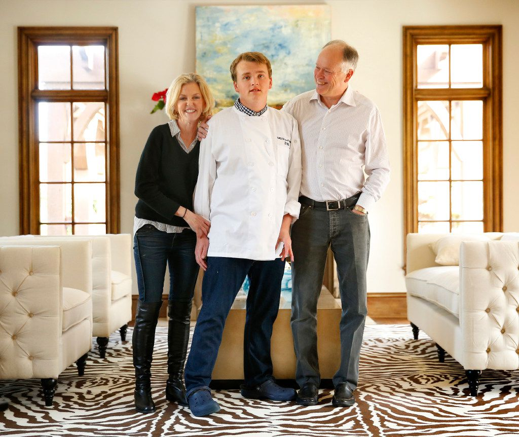 Retired doctors Debra Caudy and husband Clay Heighten with their 19-year-old son Jon.