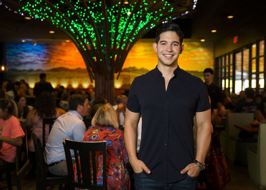 Julian Rodarte, who owns Beto & Son with his father, poses for a photo in the dining room in 2018. Today, the dining room is temporarily closed because of the coronavirus crisis, but the restaurant is retaining customers by using its generous patio.