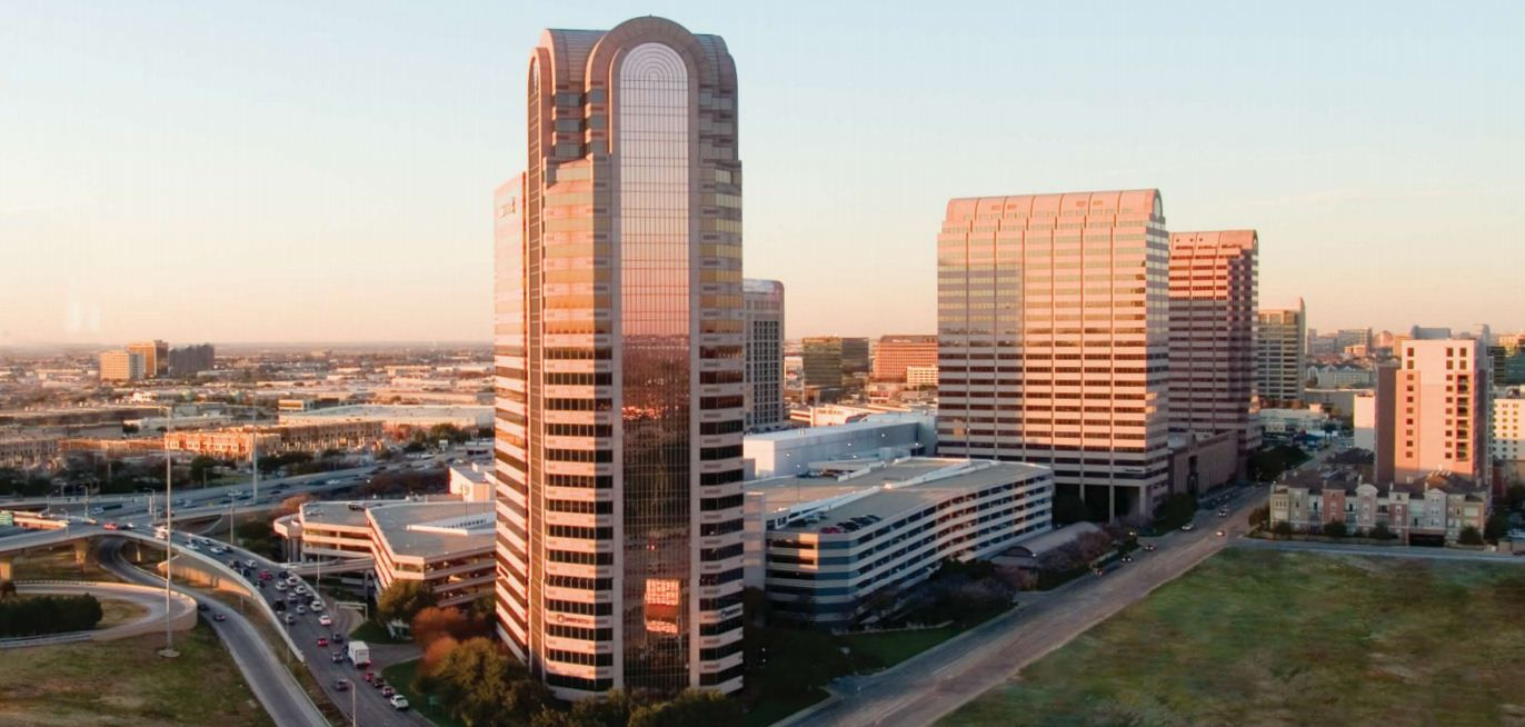 The Galleria Towers are at LBJ Freeway and Noel Road.