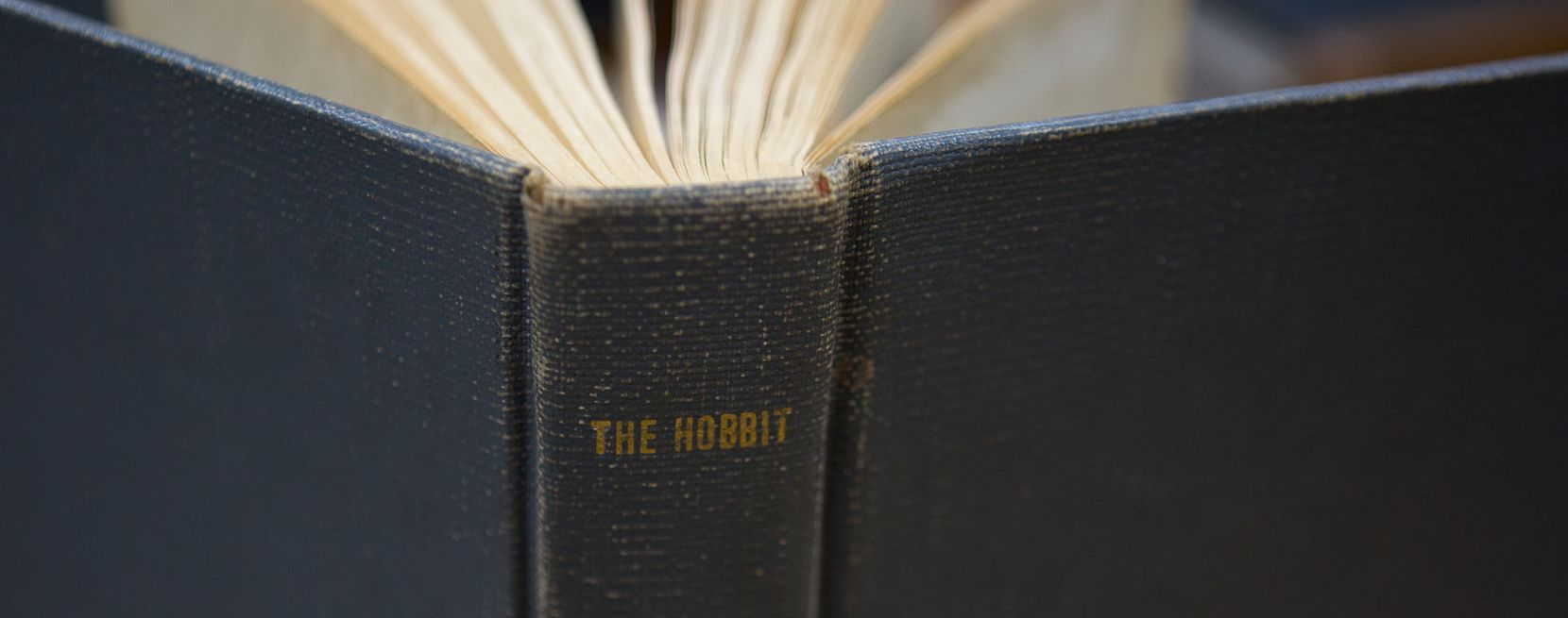 A first round print and first edition 1938 copy of The Hobbit by J.R.R. Tolkien was returned to the University of North Texas Libraries with an anonymous letter. The book is being returned after more than 40 years. Photo taken Thursday, April 11, 2019 at the UNT library annex in Denton, Texas.