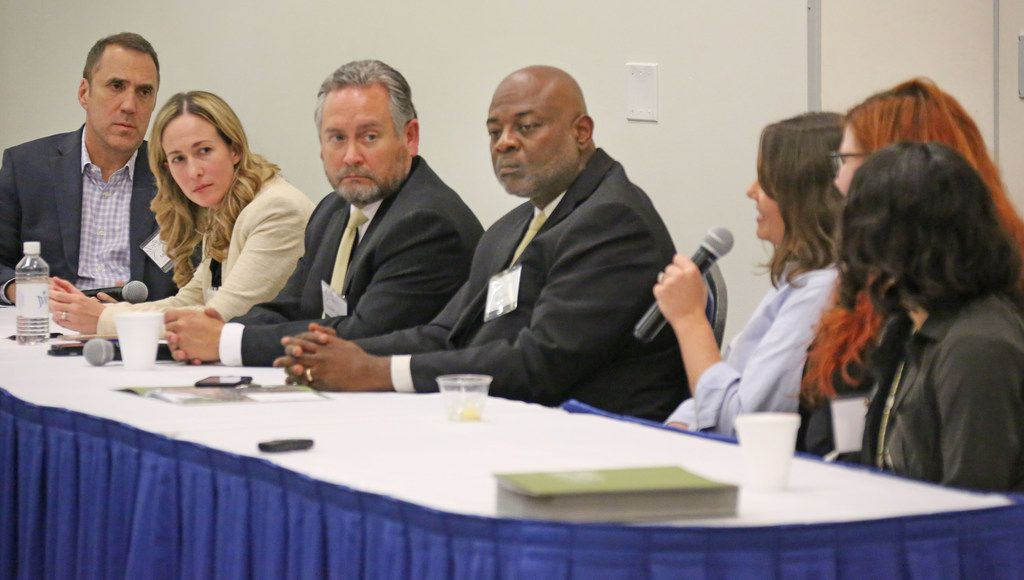 Panelists on Wednesday discussed press freedom and responsibility in the current social climate.