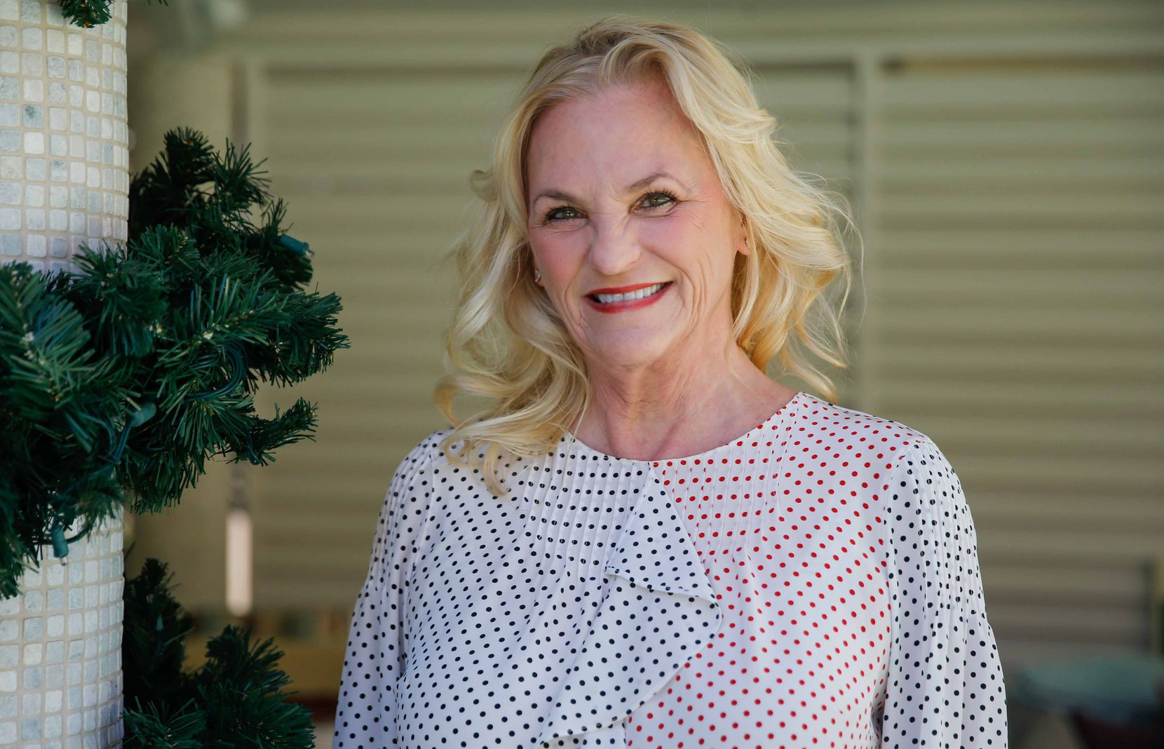 Melissa Reiff, CEO of The Container Store, poses at her home in Dallas on Dec. 9.