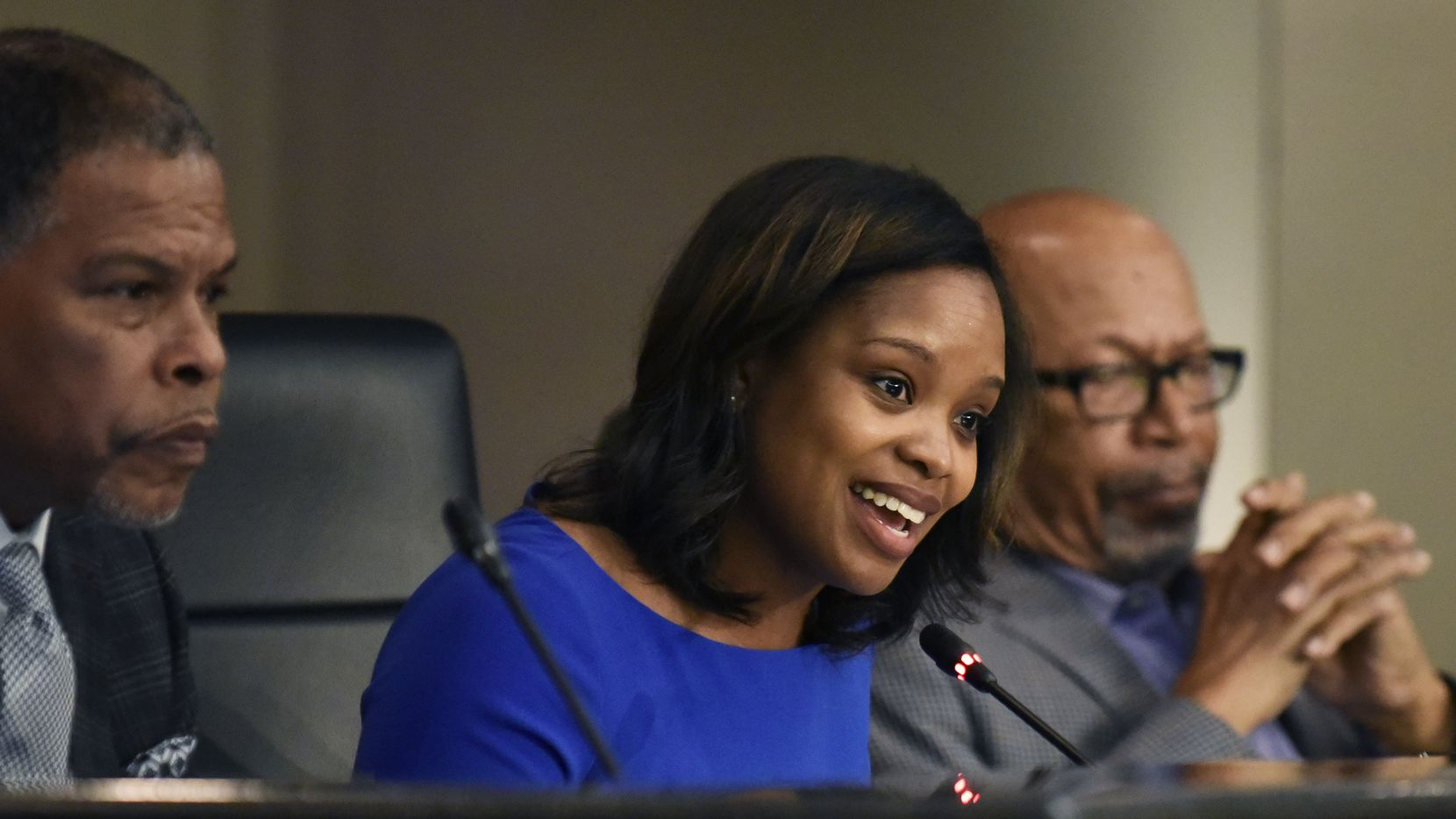 DeSoto councilwoman Candice Quarles benefited from her husband's fraud but has maintained she knew nothing about his illegal transactions.