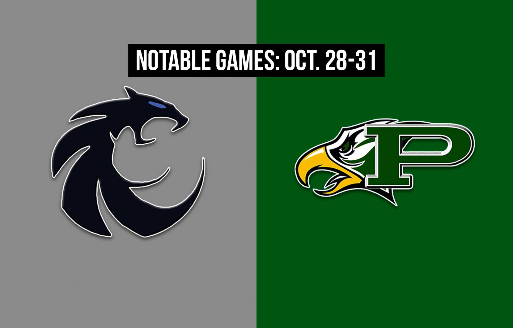 Notable games for the week of Oct. 28-31 of the 2020 season: Denton Guyer vs. Prosper.