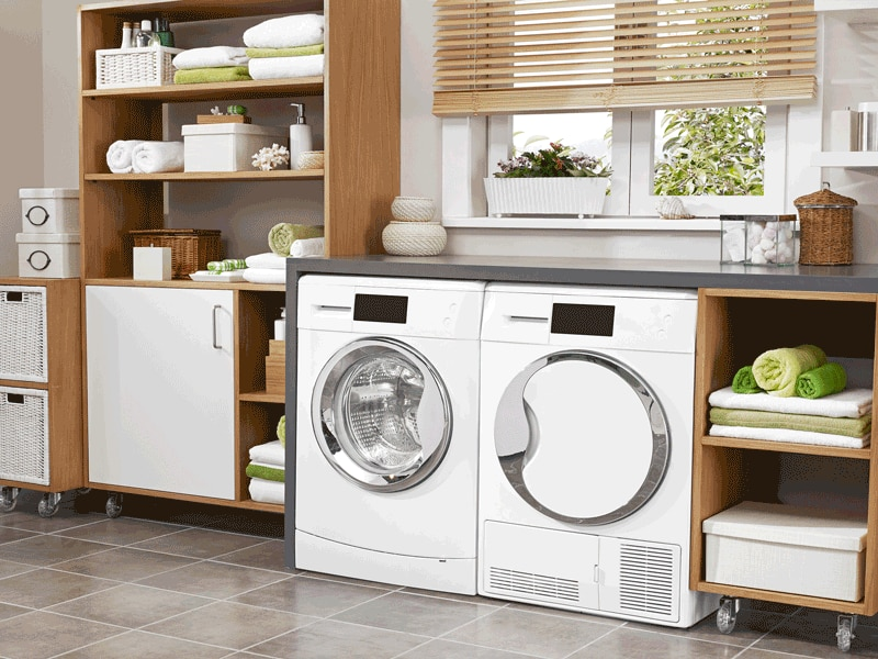 A laundry room ranks highest for buyers.