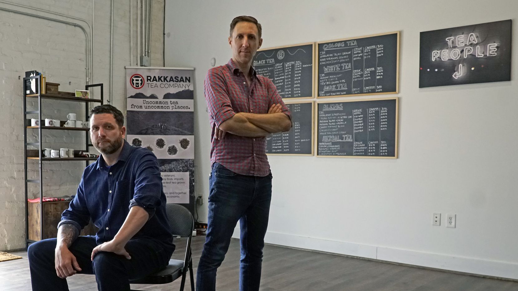 Rakkasan Tea Company co-founders and veterans Terrence Kamauf (left) and Brandon Friedman should know how to get approved for an SBA loan thanks to Friedman's experience in the federal bureaucracy. But like many businesses, they've waited three months for a life-changing loan, only to be denied.