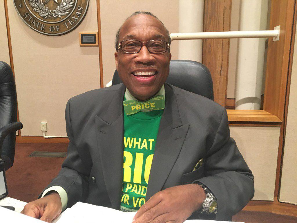 Dallas County Commissioner John Wiley Price