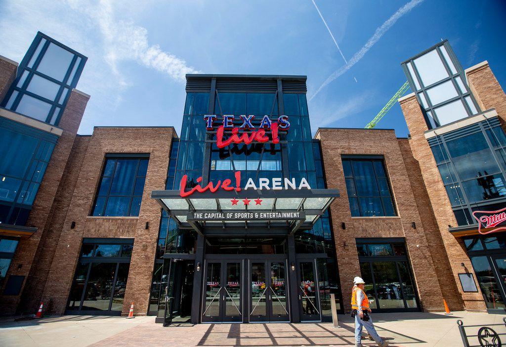 The Texas Live! entertainment complex in Arlington will feature concert venues and restaurants.