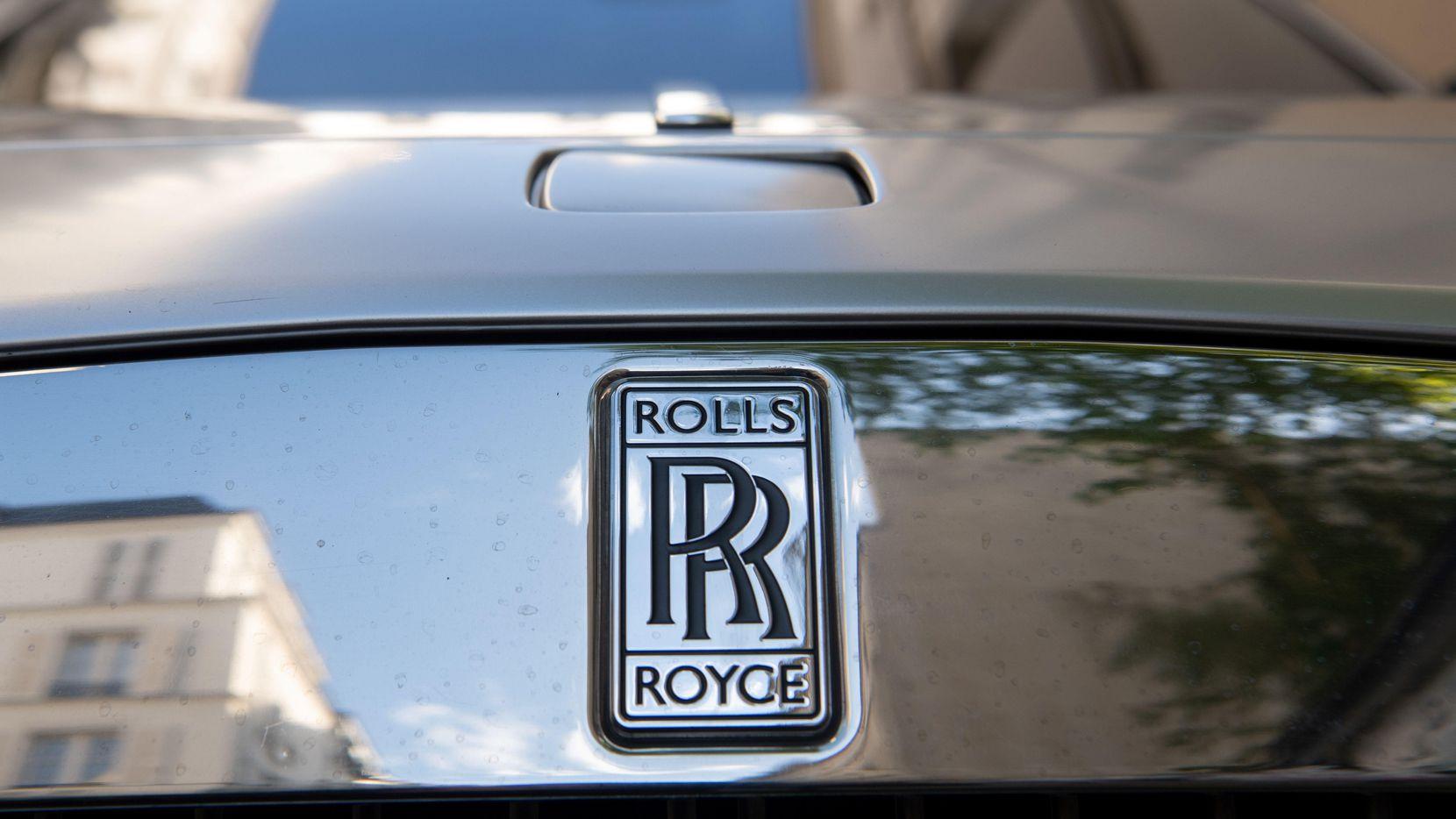 Un auto Rolls Royce en su fabrica en Inglaterra.(GETTY IMAGES)