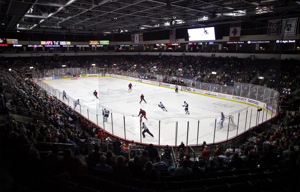 The Allen Americans play in the Allen Event Center. Stewart F. House/Special Contributor