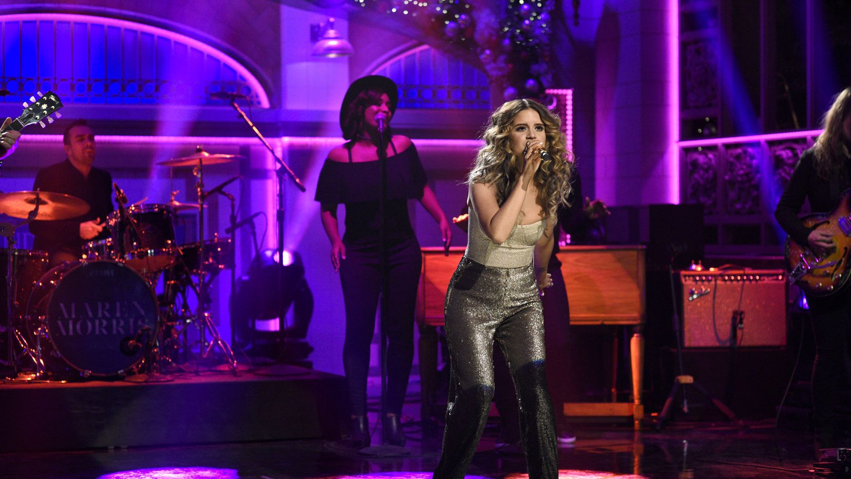 """Maren Morris was the musical guest on """"Saturday Night Live"""" on Dec. 10, just days after receiving a Grammy nomination for Best New Artist."""