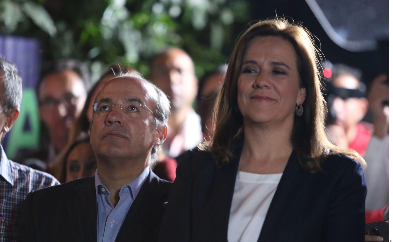 Margarita Zavala, esposa del ex presidente Felipe Calderón, está al frente de México Libre.