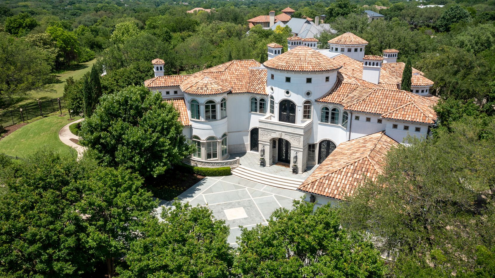 This one-of-a-kind North Dallas residence is customized in every way, inside and outside.