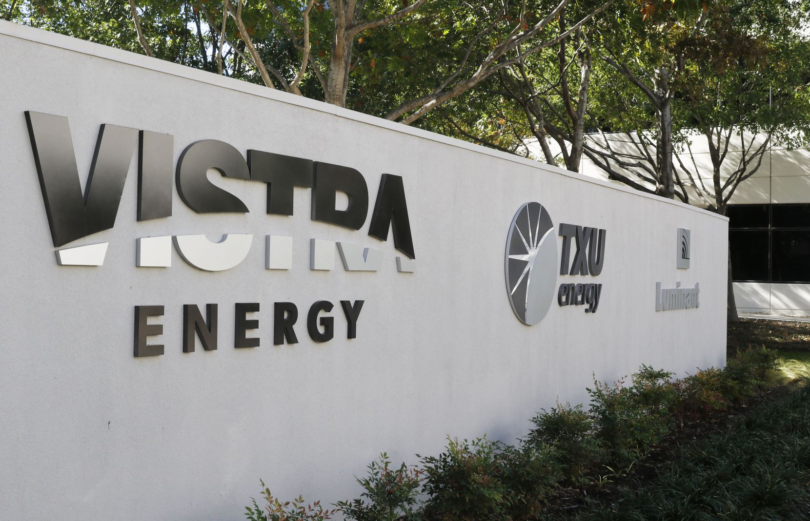 The headquarters of Vistra Energy on Monday, October 30, 2017 in Irving, Texas.  Irving-based Vistra Energy, the parent company for TXU Energy and Luminant, said Monday, Oct. 30, 2017 it will merge with Houston-based Dynegy Inc.