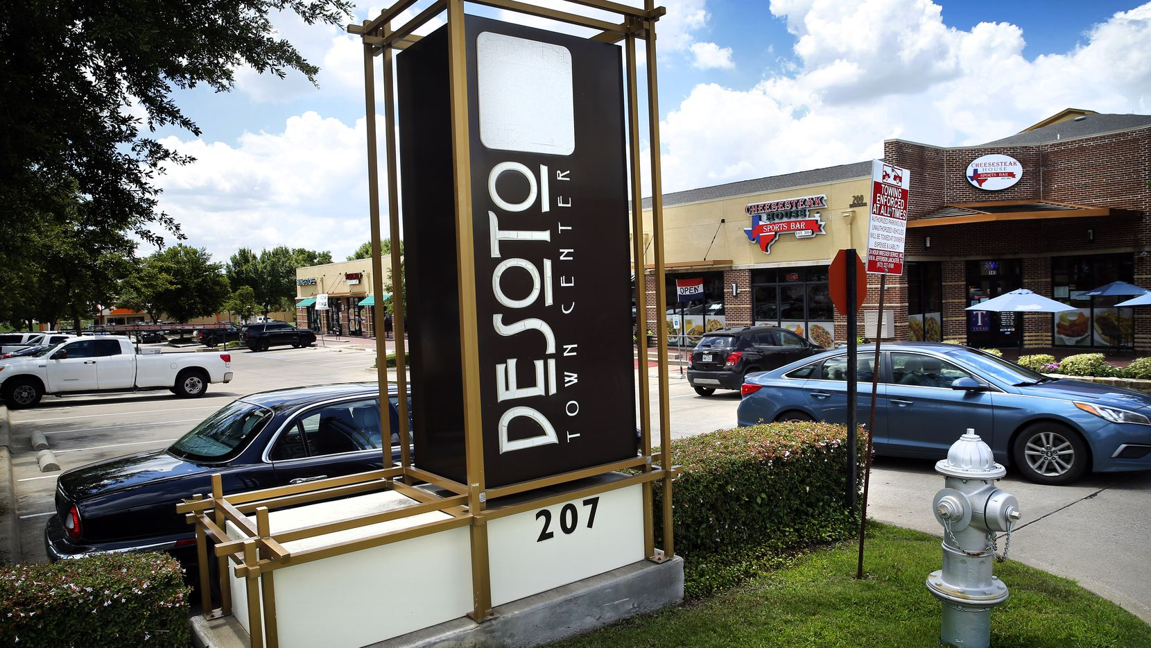 The DeSoto Town Center is pictured in this file photo. Candidates for mayor and city council will meet Thursday in an online forum.