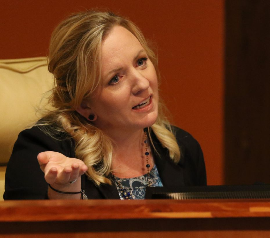 Cedar Hill City Council member Jami McCain, who voted for the tax zone, is now running for mayor.  (Irwin Thompson/The Dallas Morning News)