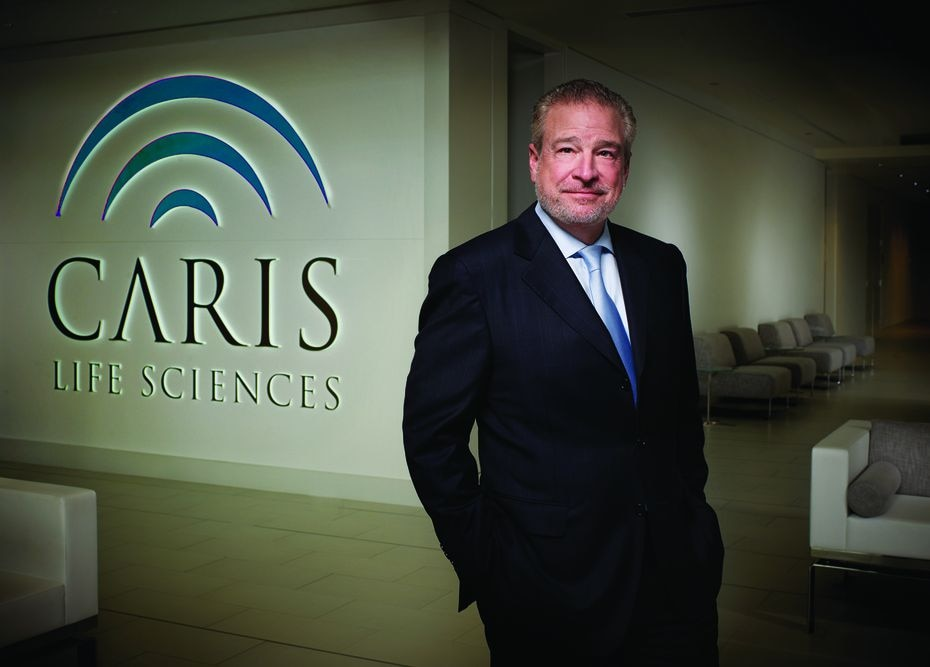 Founder, chairman and CEO of Caris Life Sciences David D. Halbert.
