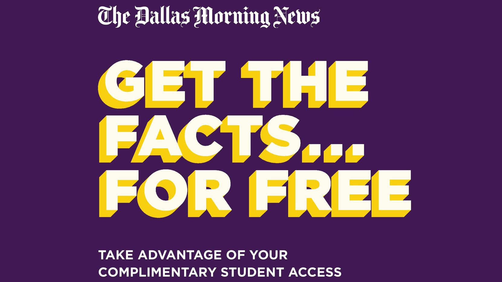 Paul Quinn College students and faculty can take advantage of free access to The Dallas Morning News.