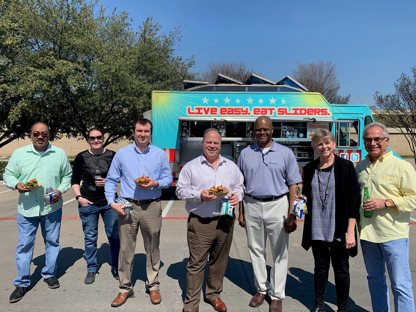Premier Nationwide Lending had a food truck come to its corporate office for lunch in the summer of 2019.