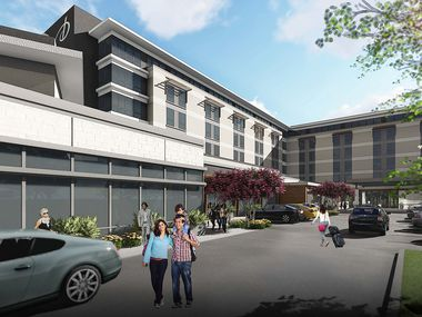 The hotel is scheduled to open in mid-November in Southlake.