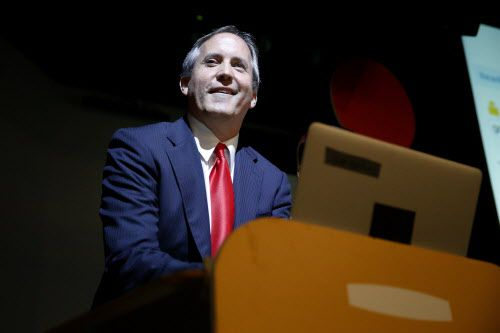 Texas Attorney General Ken Paxton. (Andy Jacobsohn/The Dallas Morning News)