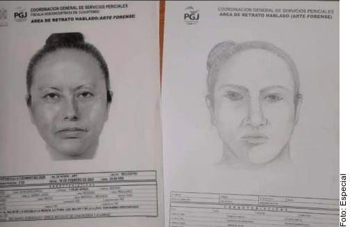 Cara redonda, ojos pequeños, nariz recta, boca mediana y mentón oval, se detallan entre las características de la sospechosa.