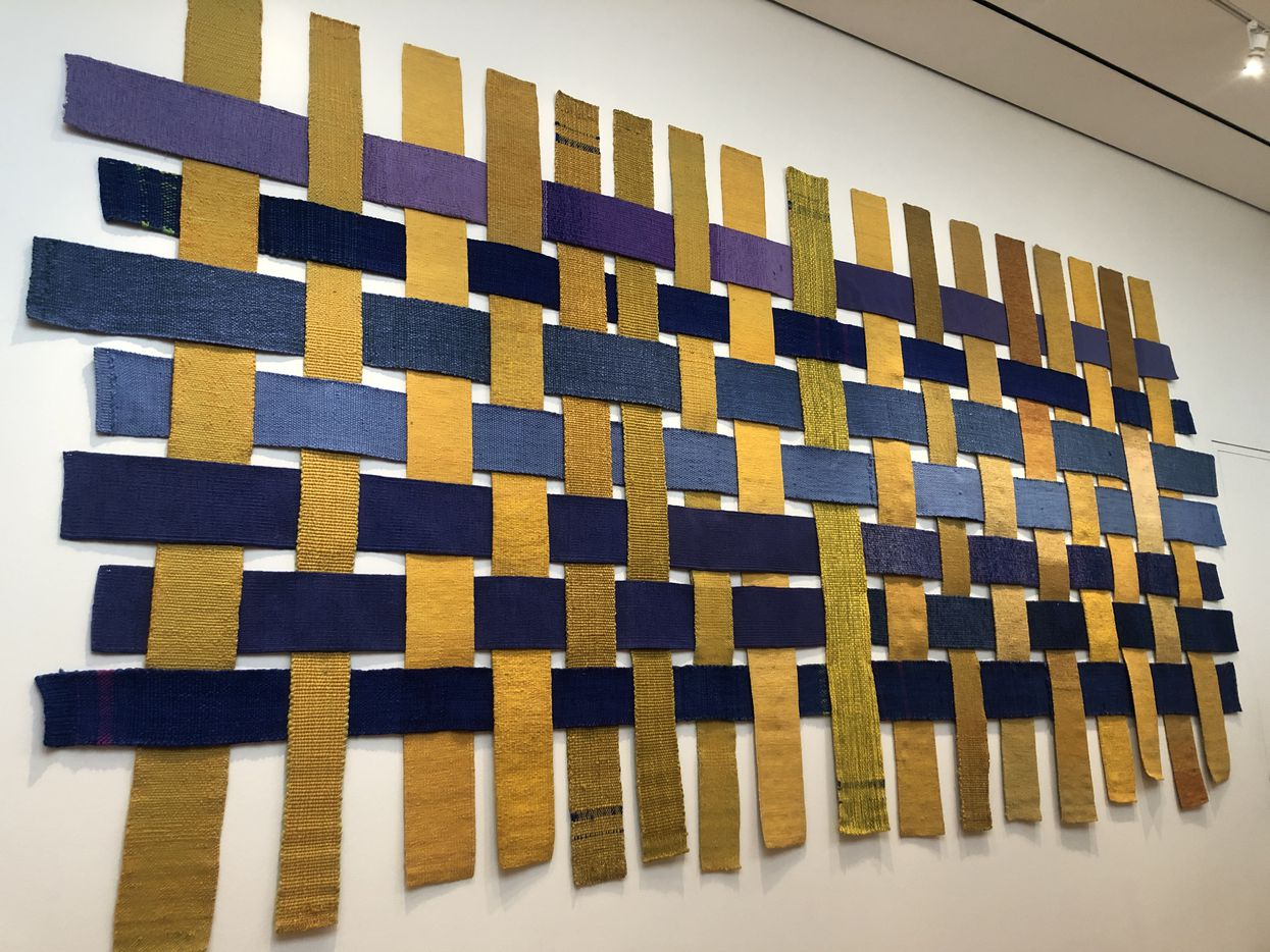 Chaine et trame interchangeable  by Sheila Hicks.