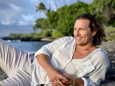 """Matthew McConaughey recounts his upbringing in the memoir """"Greenlights,"""" his first book."""