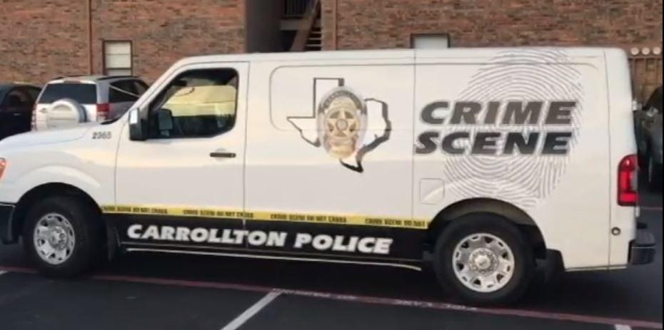 File photo of a Carrollton police crime scene van.
