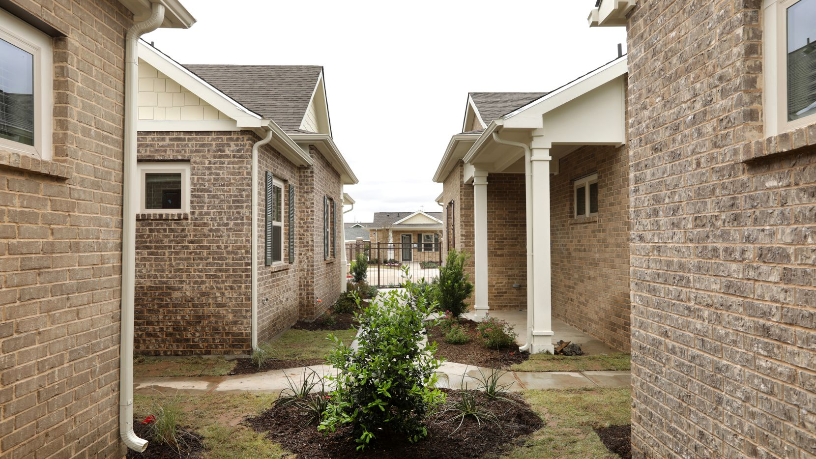 Homes at the Avilla Northside home community in McKinney start at near $1,400 a month.