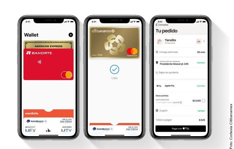 Para pagar con Apple Pay, los clientes deben sostener su iPhone o su Apple Watch cerca de una terminal para realizar un pago sin contacto.