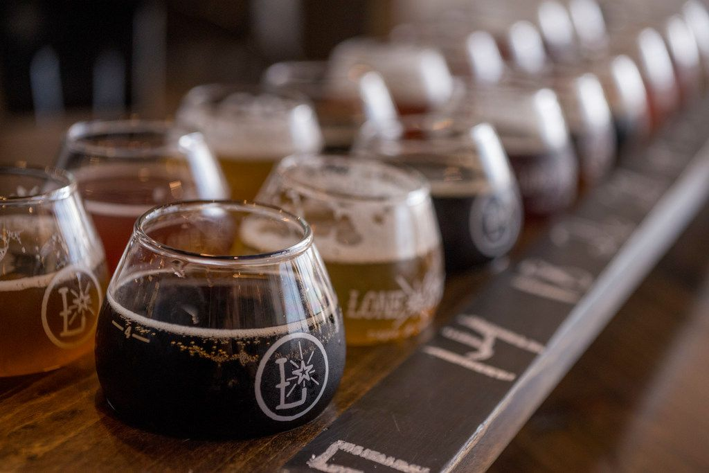 """Lone Star Taps and Caps' """"Barley Legal"""" mega-flight ha™s 18 beers, but you'll need two buddies to order (and drink) it."""