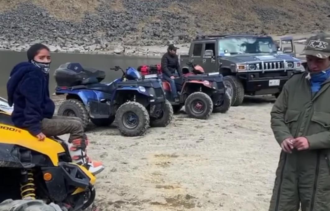 Funcionario del Estado de México es despedido por fiesta en el Nevado de Toluca.