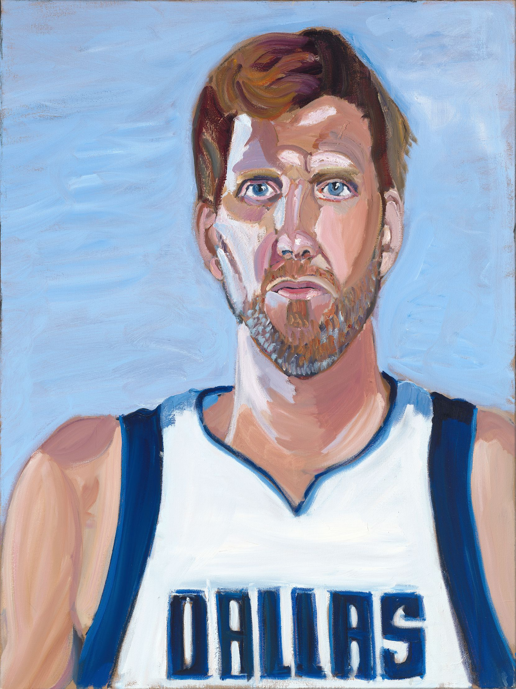 George W. Bush's portrait of former Mavericks star Dirk Nowitzki is featured in the former president's book titled Out of Many, One: Portraits of America's Immigrants.