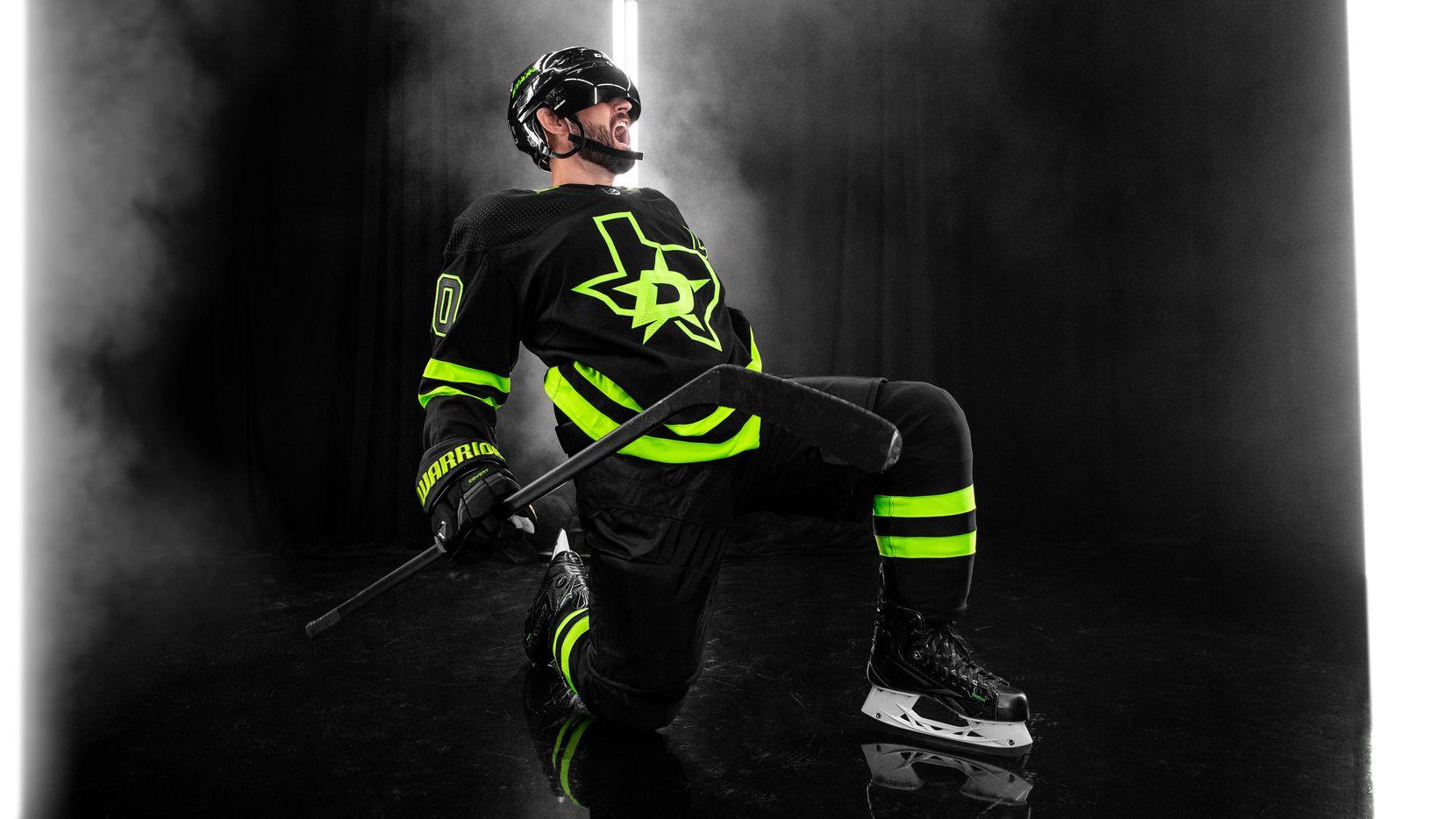 Dallas Stars unveil new black and neon green alternate jersey