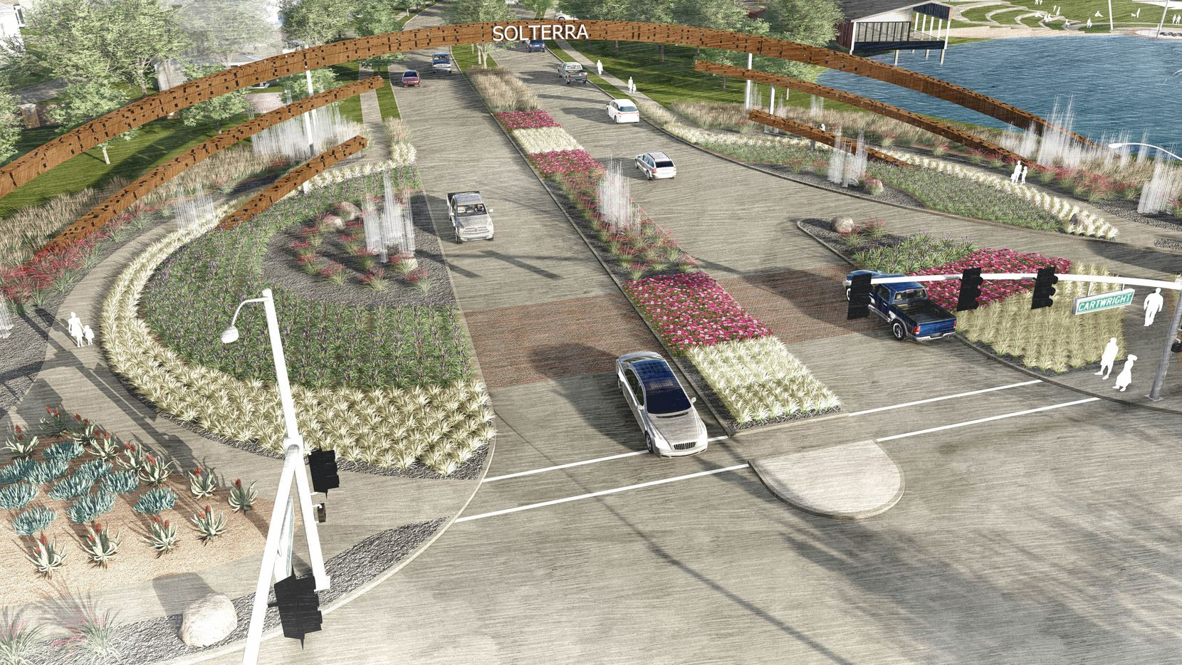 The planned Solterra community will have 3,900 homes.