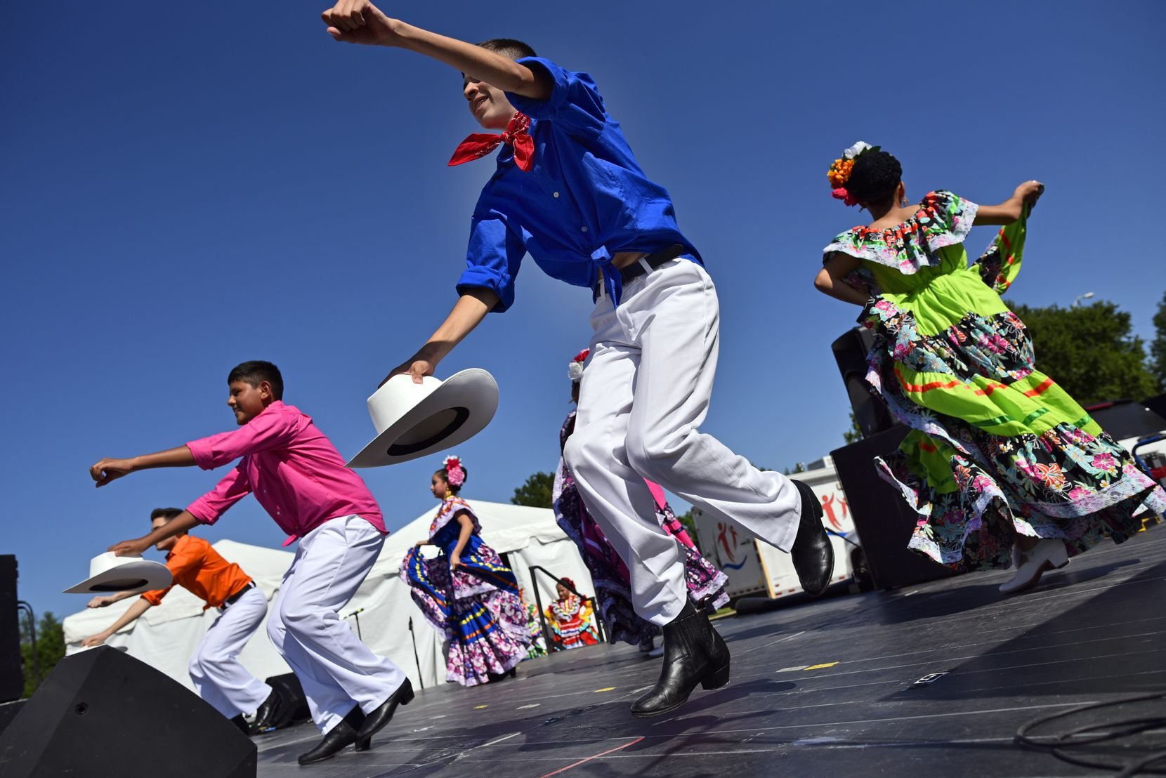 Mesquite's celebration will be online this year with dancing, music and speeches presented on the city's Facebook page.