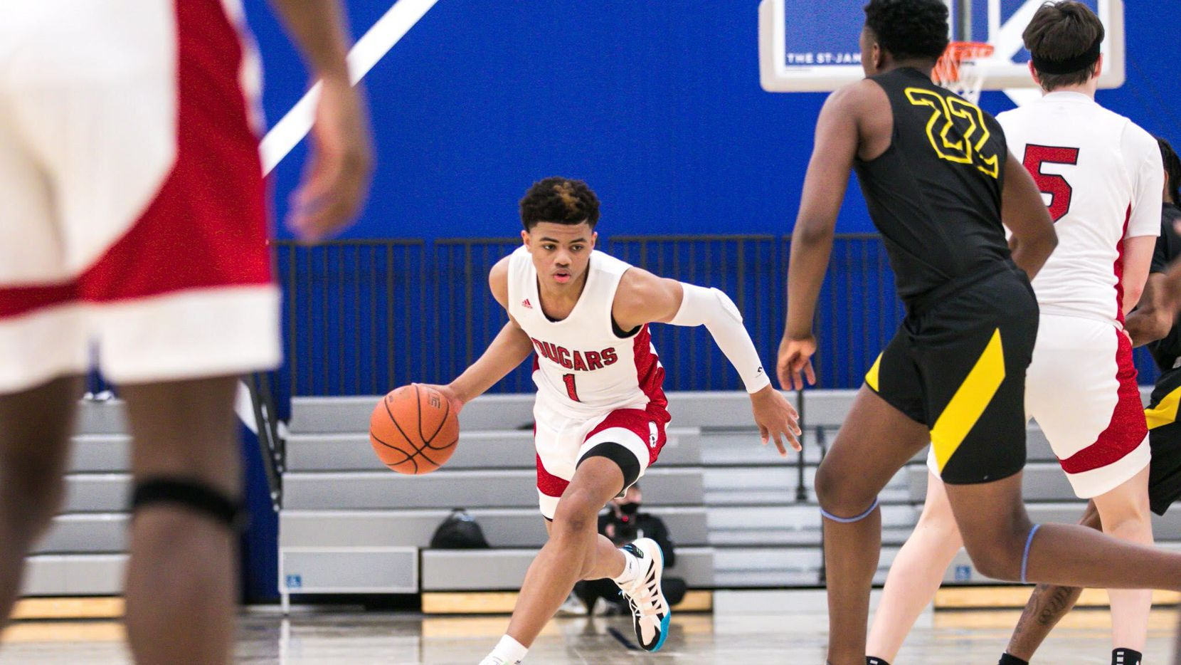 Keyonte George from iSchool of Lewisville is rated the fourth-best player in the nation in the Class of 2022.