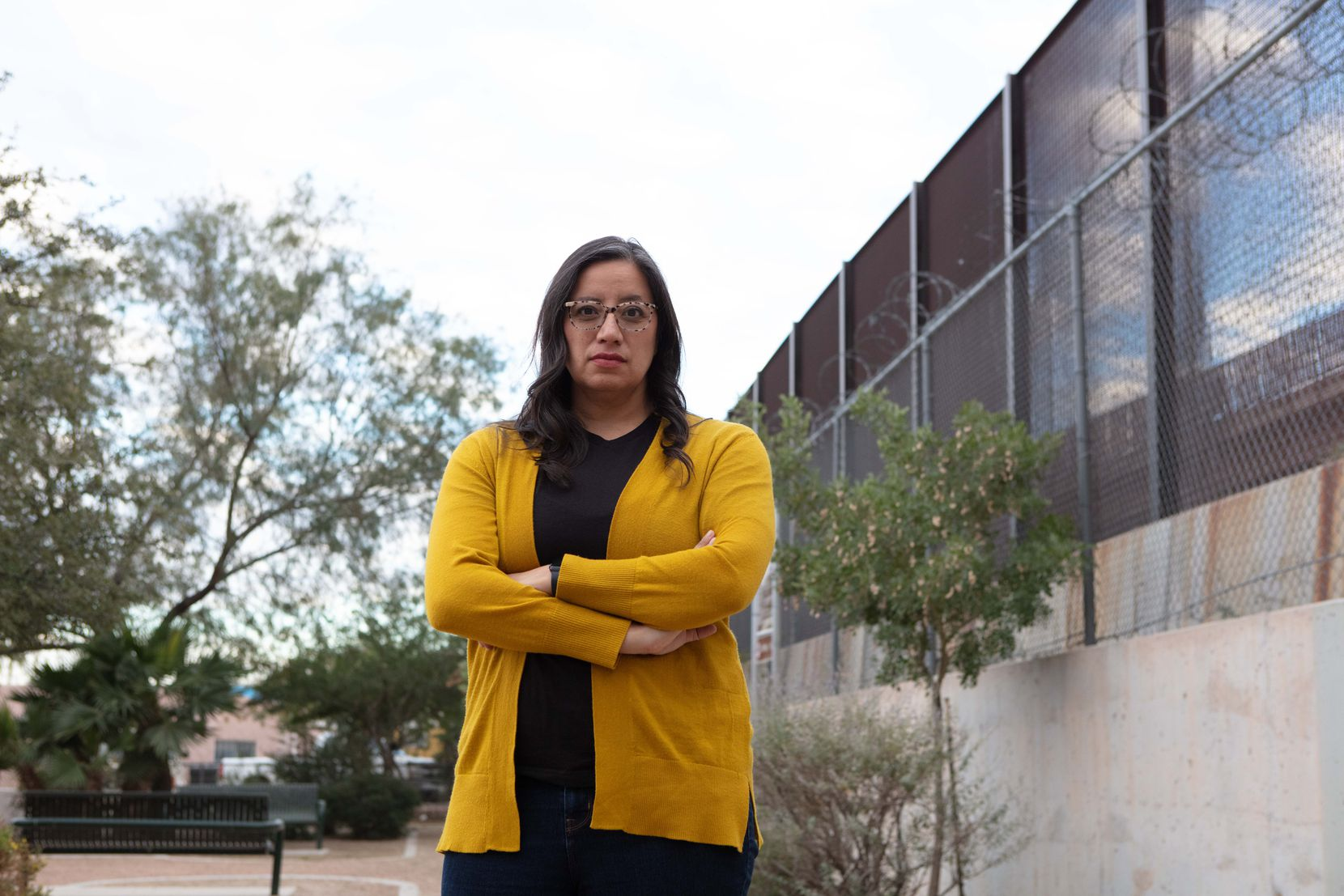 """""""We know that the system is broken. … We cannot just try to make detention camps, or a wall, more palatable,"""" says Marisa Limón, deputy director of the Hope Border Institute."""