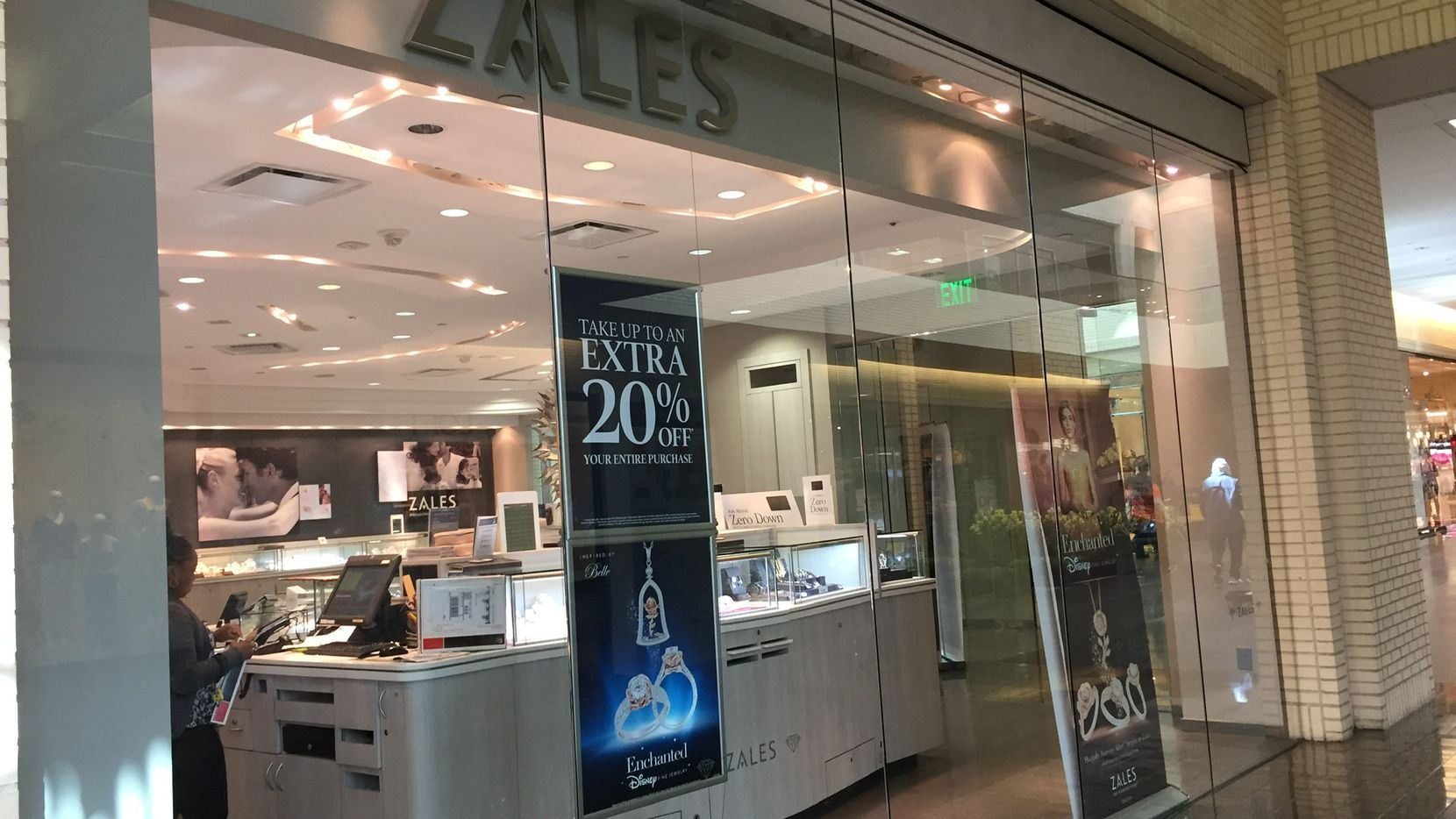 Zales store at NorthPark Center in Dallas.