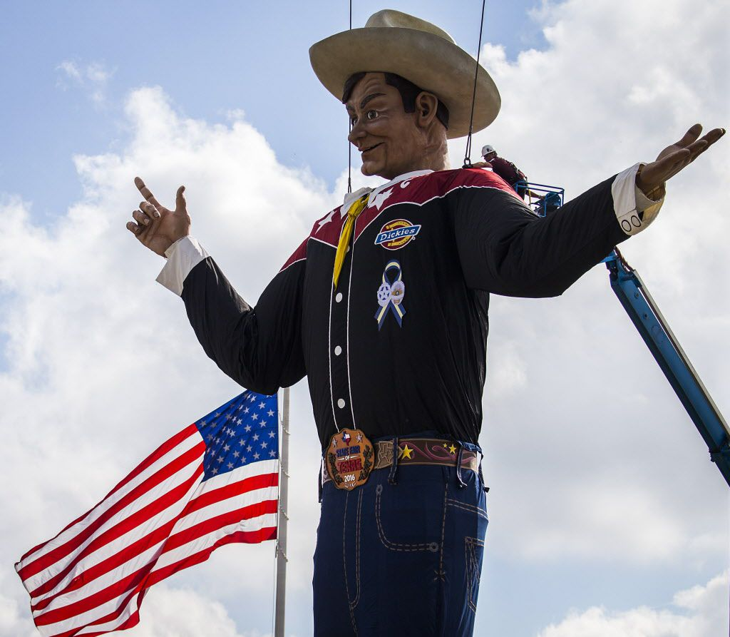 What could possibly be unfriendly about a city where you can be greeted by a 55-foot cowboy?