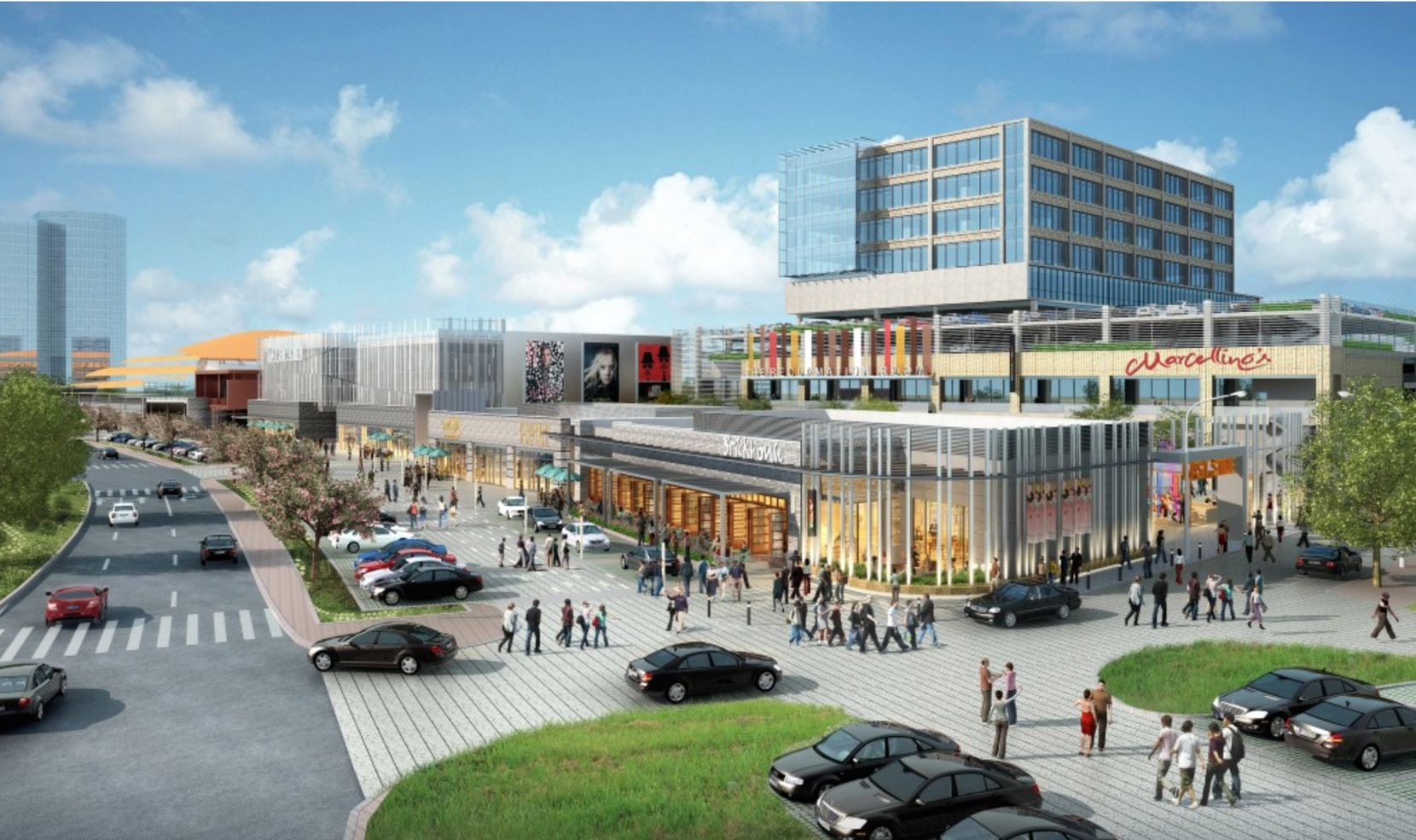 The Music Factory will include office, retail, restaurants and entertainment venues.