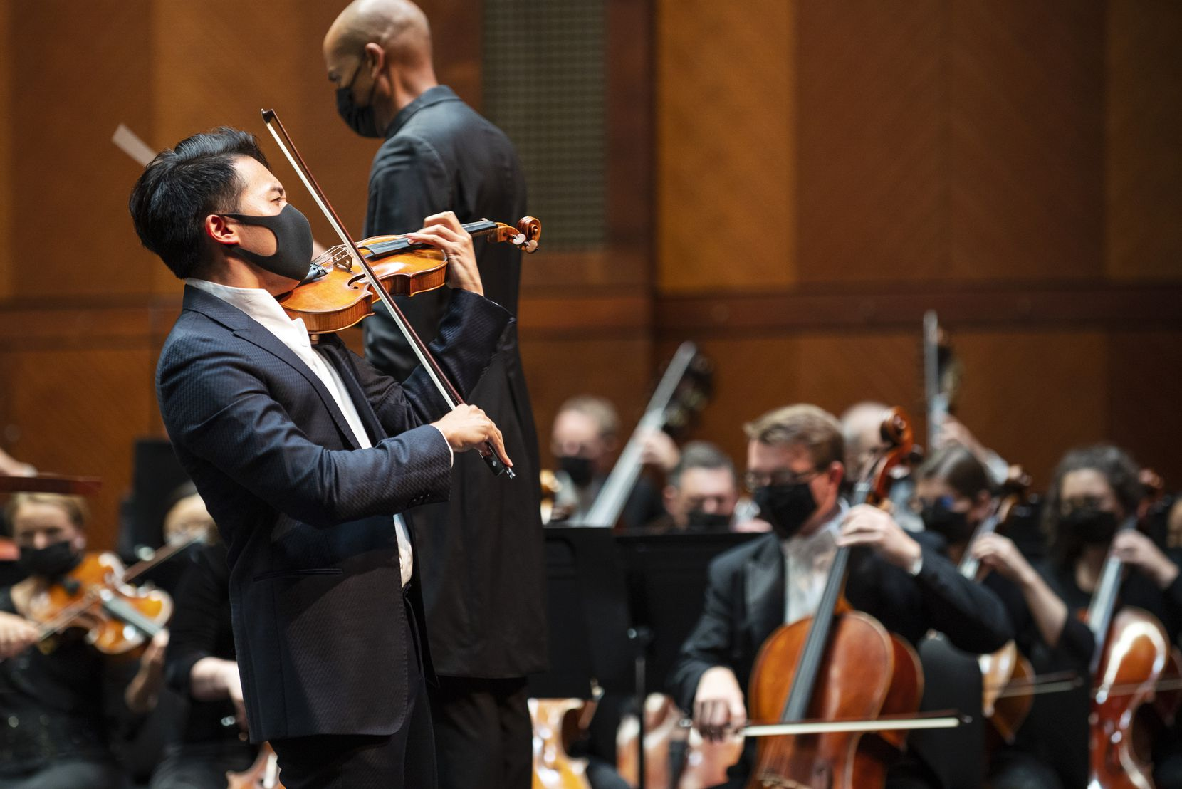 Violinist Ray Chen performs Sibelius' Violin Concerto with the Fort Worth Symphony Orchestra on Sept. 17 at Bass Performance Hall in downtown Fort Worth.
