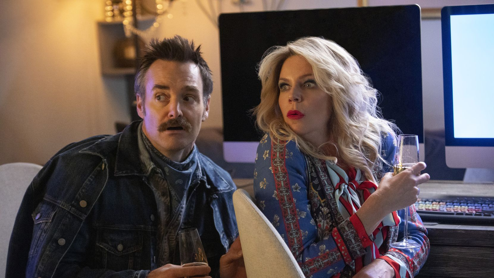 """Will Forte and Kaitlin Olson play a couple trying to become house-flipping stars on Quibi's """"Flipped."""""""