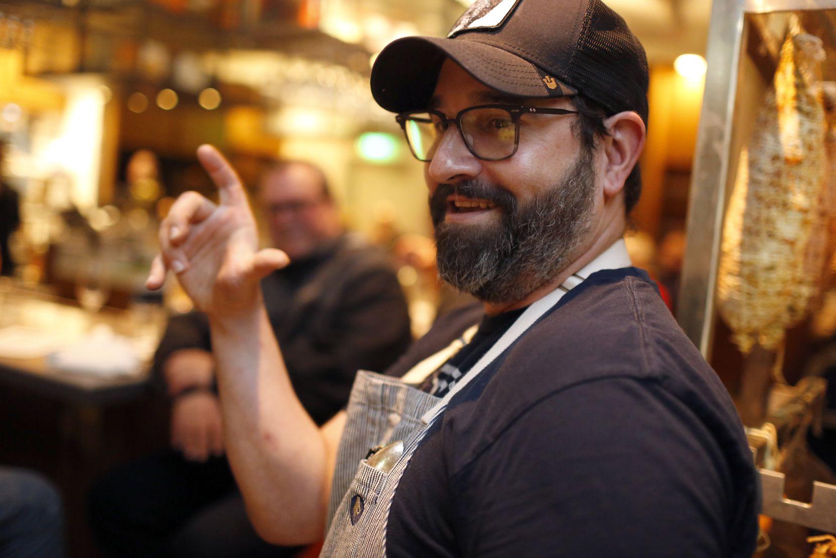 Chef David Uygur at Macellaio