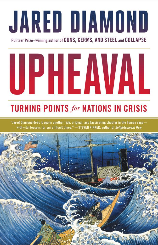 Jared Diamond, a best-selling historian and scientist, explains how various countries have survived existential crises in his new book, Upheaval: Turning Points for Nations in Crisis.
