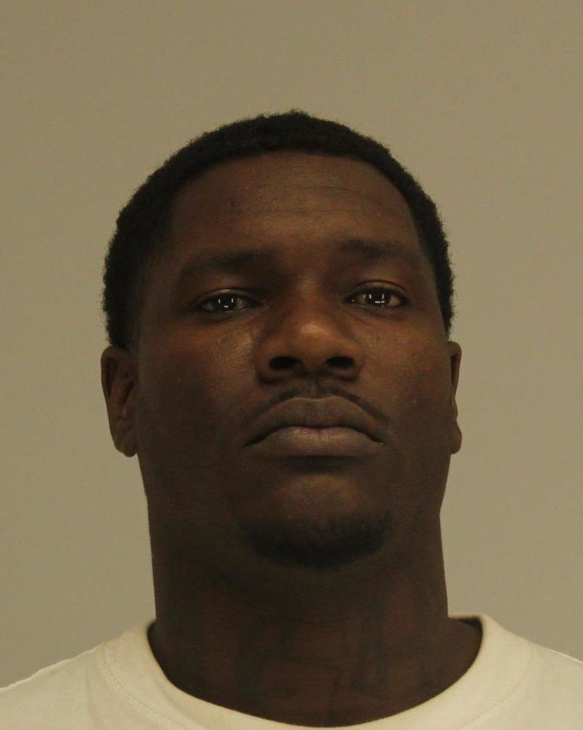 Edward Dominic Thomas was arrested April 14 on suspicion of aggravated assault.