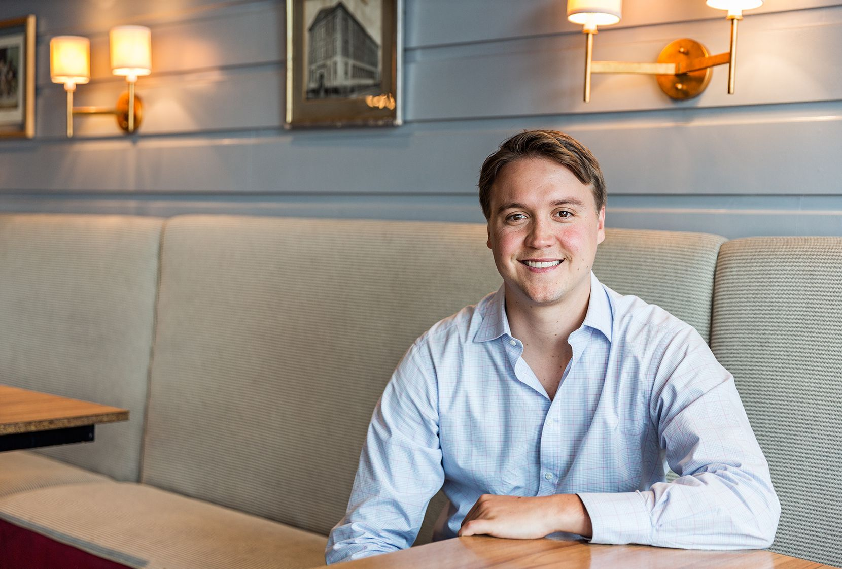 Hunter Pond, 28, CEO of East Hampton Sandwich Co.